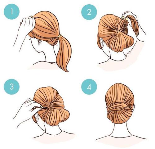 простые прически на 1 сентября на короткие волосы 3