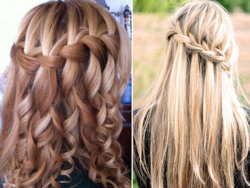 прически на 1 сентября на длинные волосы для старшеклассниц