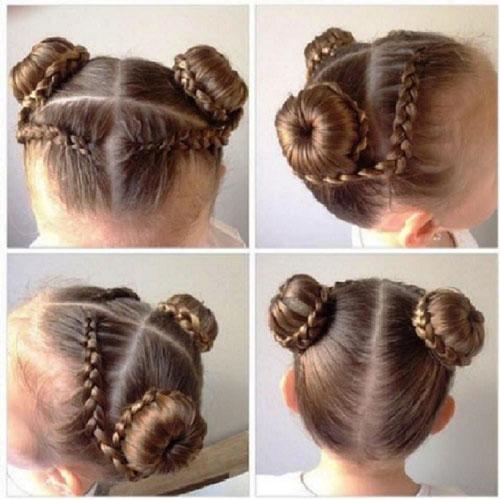 прически на 1 сентября на длинные волосы 2 класс