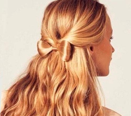 прически на длинные волосы на 1 сентября 10 класс