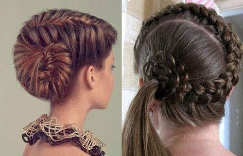 прически на длинные волосы в школу 11 класс