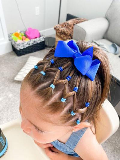 идеи прически на 1 сентября на длинные волосы 10