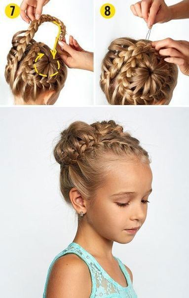 идеи прически на 1 сентября на длинные волосы 5