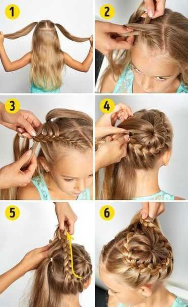 идеи прически на 1 сентября на длинные волосы 6