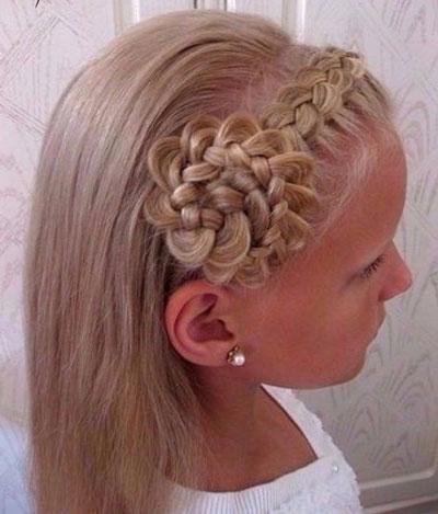 идеи прически на 1 сентября на длинные волосы 8