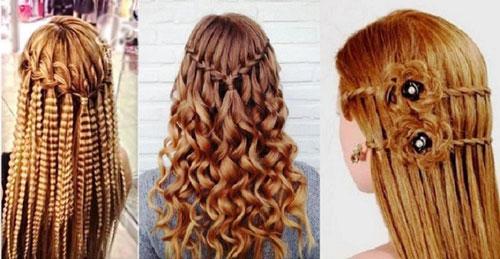 прически на длинные волосы на 1 сентября для старшеклассницы