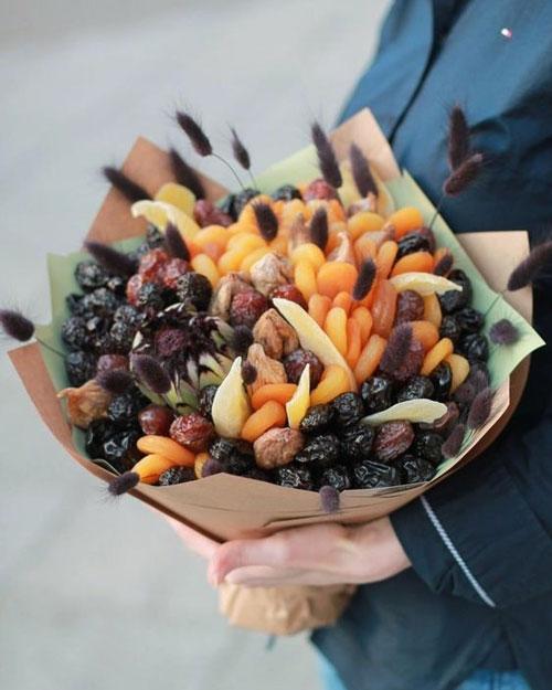 фруктовый букет учителю на 1 сентября своими руками
