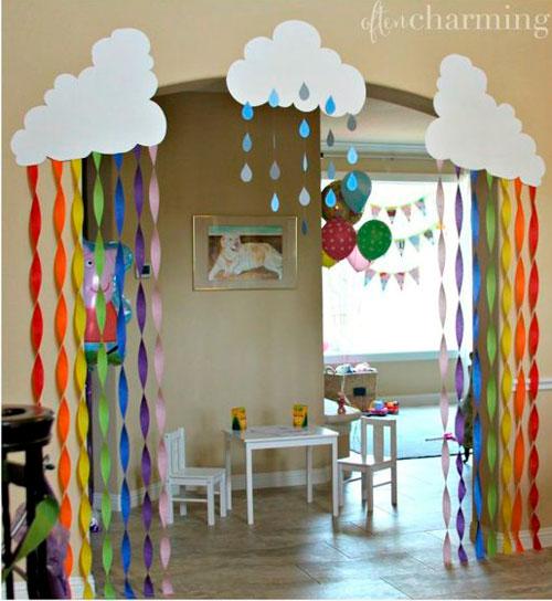 комната на детский день рождения 4