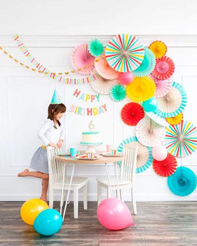 детский день рождения в комнате