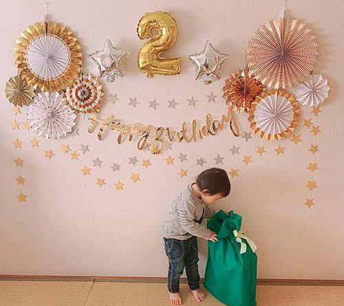 комната на детский день рождения