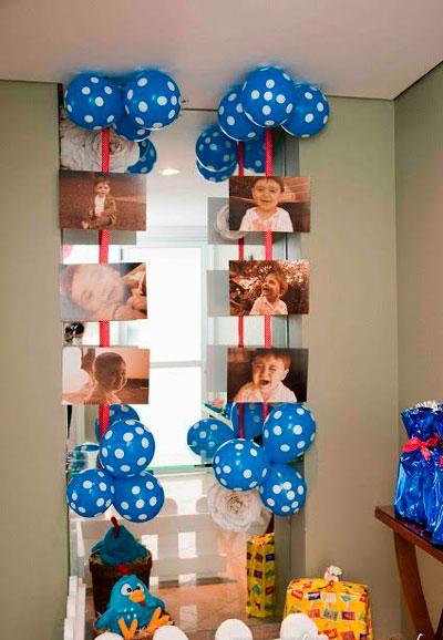 украшение фото ребенка комнаты на день рождения 2