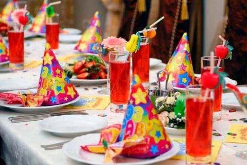 Украшение стола на день рождения 5 лет ребенка