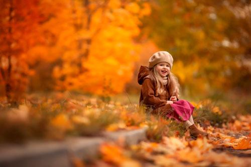 Красивые стихи про осень для детей 4-5 лет