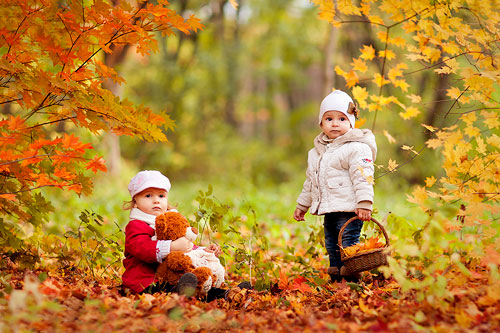 Короткие стихи про осень для детей 4-5 лет