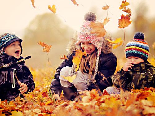 Короткие и красивые стихи про осень для детей 2-3 лет