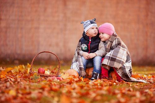 Короткие стихи про осень для детей 2-3 лет