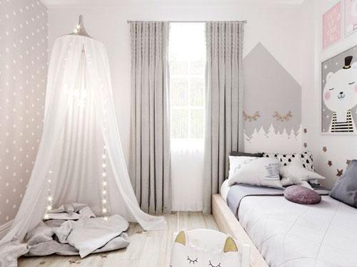 Детская комната в скандинавском стиле для двоих 3