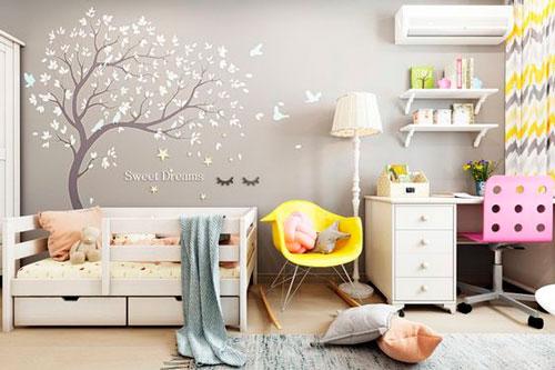 Детская комната в скандинавском стиле для двоих 4