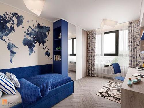 Детская комната в скандинавском стиле для двоих 7