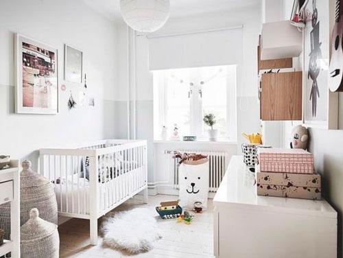 Детская комната в скандинавском стиле для двоих 9
