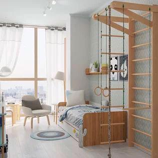 Детская комната в скандинавском стиле для девочки 2