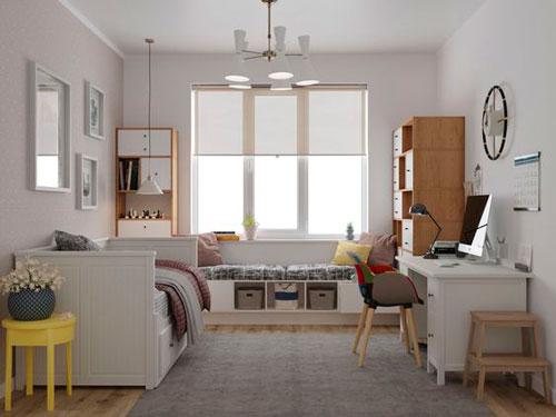 Детская комната в скандинавском стиле для девочки 3