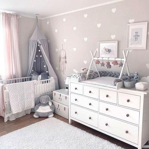 Детская комната в скандинавском стиле для девочки 4