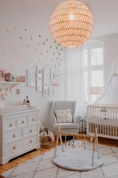 Детская комната в скандинавском стиле для девочки 5