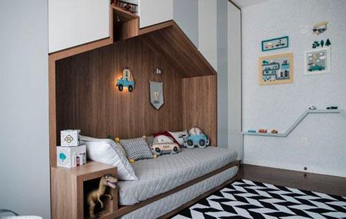 Детская комната в скандинавском стиле для девочки 10