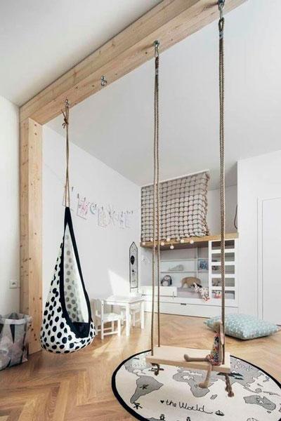 Детская комната в скандинавском стиле для мальчика 3