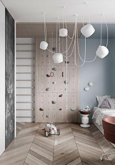 Детская комната в скандинавском стиле для мальчика 4