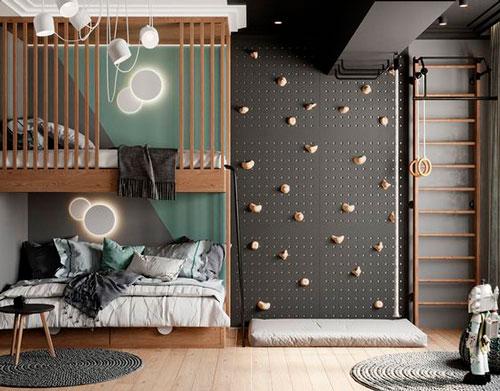 Детская комната в скандинавском стиле для мальчика 5