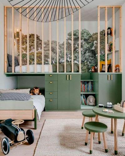 Детская комната в скандинавском стиле для мальчика 7
