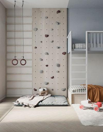 Детская комната в скандинавском стиле для мальчика 9