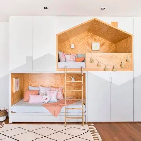 Детская комната в скандинавском стиле для мальчика 10