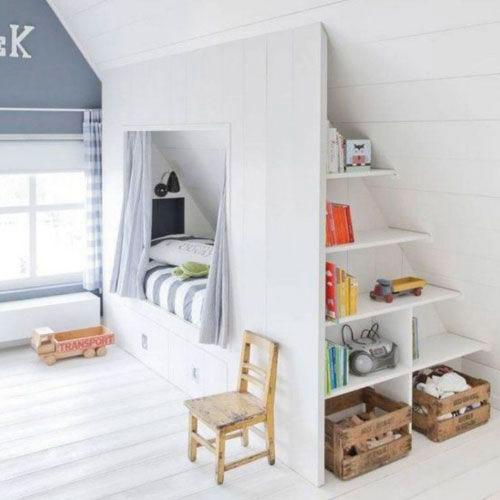 Детская комната в скандинавском стиле для подростка 4
