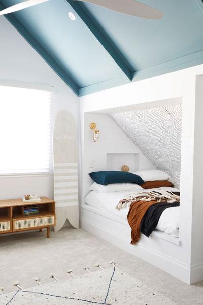 Детская комната в скандинавском стиле для подростка 6