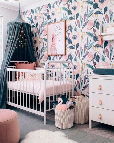 детская комната в скандинавском стиле для двоих