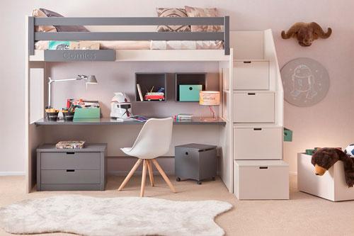 детская комната в скандинавском стиле для двоих 2
