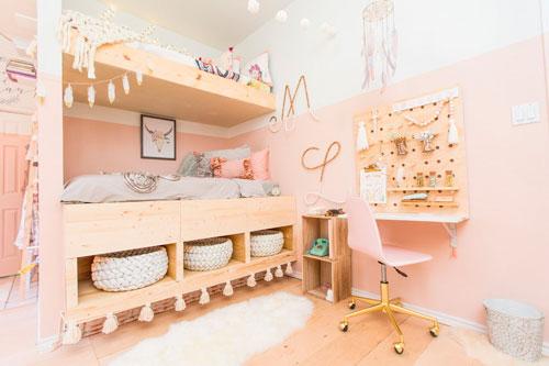 Детская комната в скандинавском стиле 10
