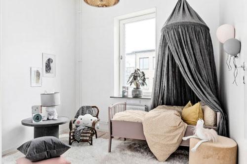 детская комната в скандинавском стиле 2