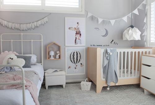 Детская комната в скандинавском стиле 9