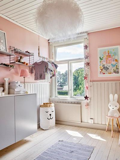 детские комнаты в скандинавском стиле фото
