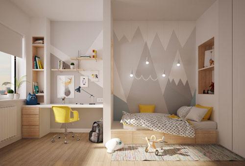 детские комнаты в скандинавском стиле фото 2