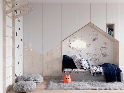 детские комнаты в скандинавском стиле фото 8