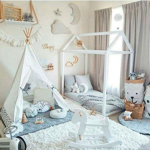 детские комнаты в скандинавском стиле фото 4