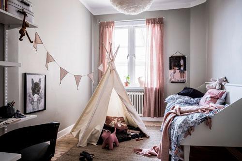детские комнаты в скандинавском стиле фото 9