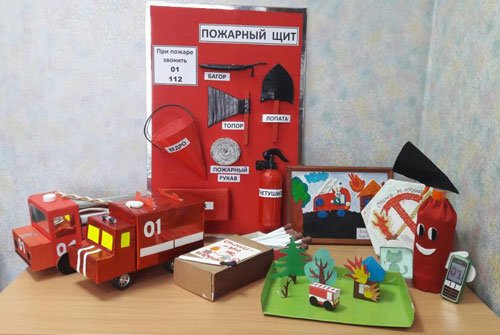 поделка в садик на тему пожарная безопасность
