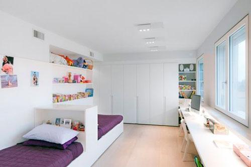 какой дизайн детской прямоугольной комнаты выбрать 4