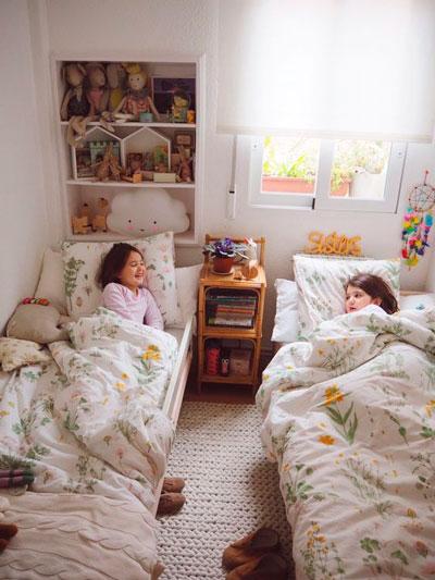 дизайн детской комнаты прямоугольной формы 5